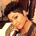 Cute short hair styles for black women
