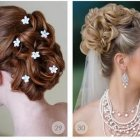 Hair design for wedding