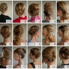 Hair up styles for medium length hair