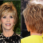 Hairstyle for short curly hair for women