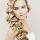 Hairstyle for wedding 2015