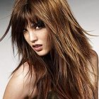 Hairstyles in layers for long hair
