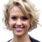 Hairstyles with short curly hair