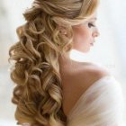 Half up hairstyles for wedding
