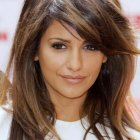 Layered haircuts for long thick hair