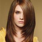 Layered haircuts for straight hair