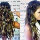 Long hair braid hairstyles