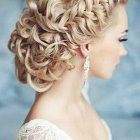 Long hair updos for wedding