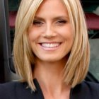 Medium straight layered haircuts