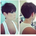 Picture of a pixie haircut