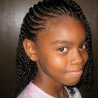 Pictures of braided hair styles