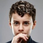 Short curly hairstyles for boys