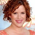 Short curly red hairstyles