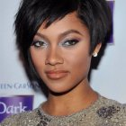 Short hair styles black women