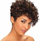 Short hair styles curly hair