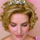 Short hair styles wedding