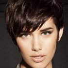 Short hair styles with fringe