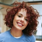 Short naturally curly hairstyles pictures