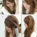 Step by step braided hairstyles