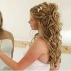 Wedding hairstyles for long hair down