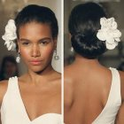 Black hair wedding styles