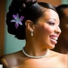 Bridal hairstyles for black brides