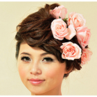 Chinese bridal hairstyles