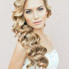 Curly wedding hair styles