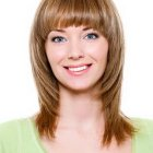 Cut hairstyles for medium length hair