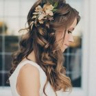 Hair for wedding bride