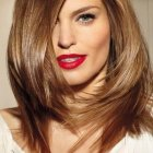 Haircuts for thick medium length hair