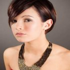 Latest short hairstyle 2015