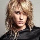 Long layered shaggy haircuts