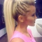 Ponytail braids hairstyles