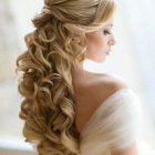Princess wedding hair