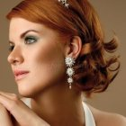 Shoulder length bridal hairstyles