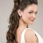 Simple bride hairstyles