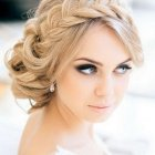 Wedding hair upstyles