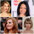 Celebrity hairstyles for 2017