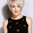 Latest short hairstyle for women 2017