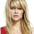 Long hairstyles with bangs 2017
