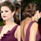 Red carpet hairstyles 2017