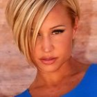 Short blonde hairstyles 2017