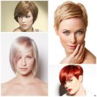 Short hair in style 2017