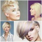 Short hairstyles and colors for 2017