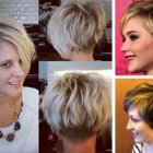 Trendy short haircuts for women 2017