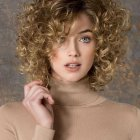 Curly bob hairstyles 2018