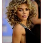 Curly short hairstyles 2018