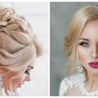 Hairstyles for brides 2018
