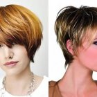 Latest hairstyles for short hair 2018